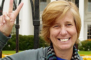 Cindy Sheehan, anti-war activist and former presidential candidate, editor of Cindy Sheehan's Soapbox. She is an antiwar activist whose son, Casey Sheehan, was in Iraq and is a co-founder of Gold Star Families for Peace.